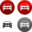 Car button. - Stock Vector