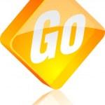 Go button. — Stock Vector #5391476