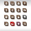 Money icons. — Stock Vector