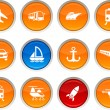 Stock Vector: Transport icons.