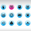 Office icons. — Image vectorielle