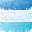 Bubbles in water. — Stock Vector #6051832