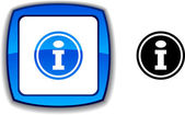 Info button. — Stock Vector
