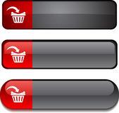 Buy button set. — Stock Vector