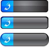 Teléfono botón set. — Vector de stock
