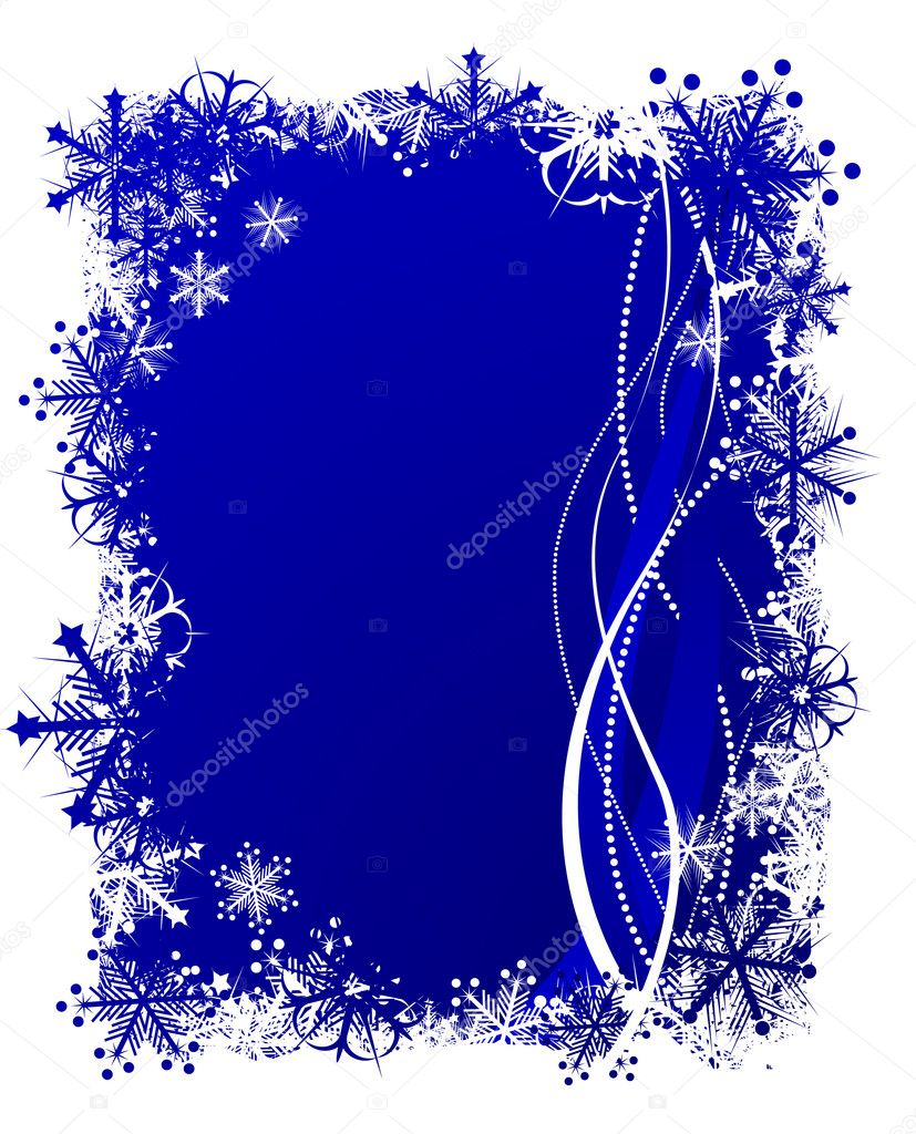 Beautiful Christmas background. Vector illustration. — Stock Vector #6081569