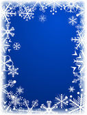 Winter background. [Vector] — Stockvektor