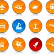 Transport  icons. — Stock Vector