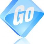 Go button. — Stock Vector #6131485