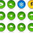 Stock Vector: Weather icons.