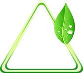 Eco background. — Stock Vector