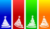 Christmas backgrounds. — Vector de stock