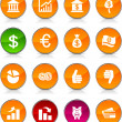 Stock Vector: MOney icons.