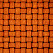 Fabric made ​​of rusty tin - Stock Photo