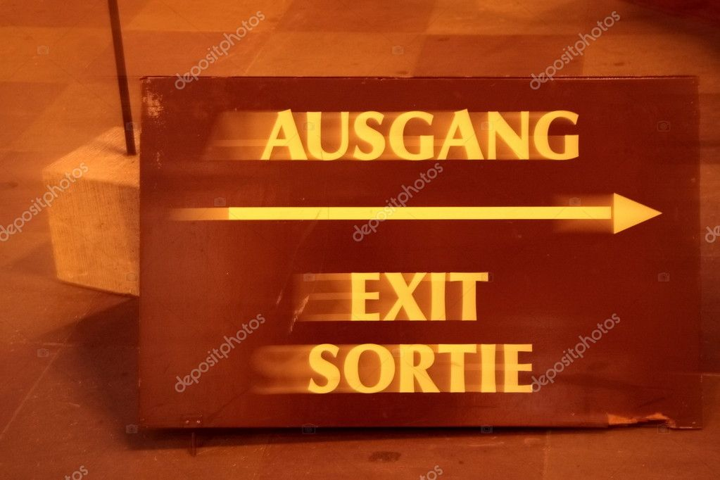 Ausgang — Stock Photo #6369210