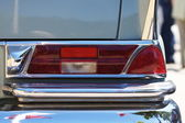 Car, taillight and blinker in detail — Stock Photo