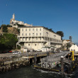Stock Photo: Landing areof Alcatraz Island