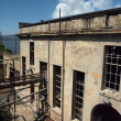 Side of Alcatraz power house — Stock Photo