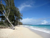 Waimanalo Beach on Oahu, Hawaii — Stock Photo