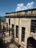 Side of Alcatraz power house — Stock Photo