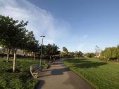 Mission Creek Park Pathway — Stock Photo