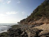 Diamondhead Beach and Lighthouse — Stock Photo