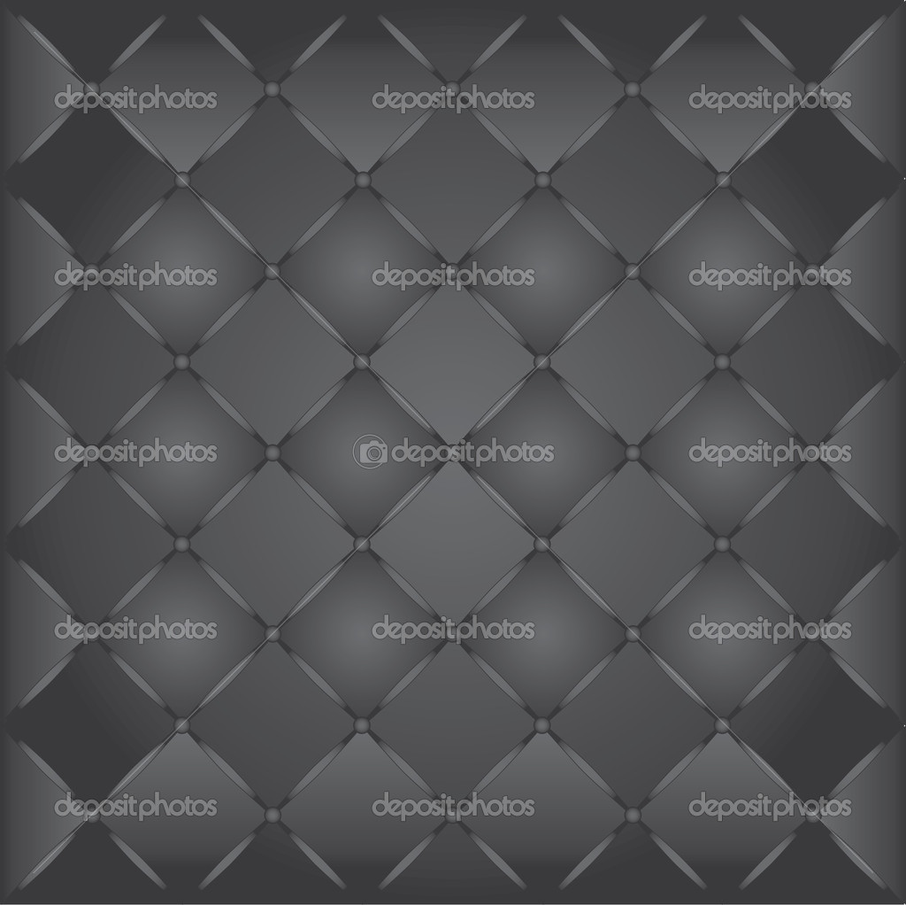 Buttoned leather background texture  Stock Vector #5966394