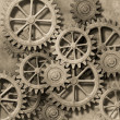 Stock Photo: Mechanical Background
