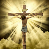 Jezus christus — Stockfoto
