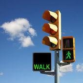 交通信号灯 — ストック写真