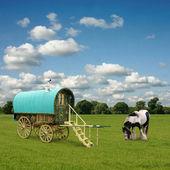 Gypsy Wagon, Caravan — Stock Photo