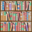 Bookshelf — Stock Vector #6373226
