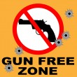Gun Free Zone — Stock Vector #6373243