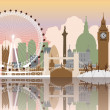 Royalty-Free Stock Vector Image: London Cityscape
