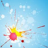 Paint Splat — Stock Vector