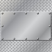 Metal Background — Stock Vector