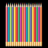 Pencils — Stock Vector