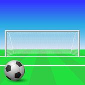 Cel piłka nożna — Wektor stockowy