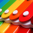 Stock Photo: Colorful xylophone