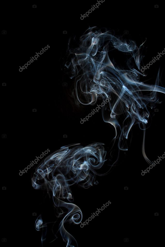 Smoke on a black background — Stock Photo #6427588