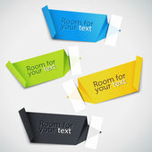 Set of labels — Vector de stock