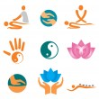 Royalty-Free Stock Vector Image: Icons_of_massage