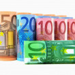Stock Photo: Euro banknotes