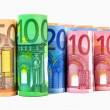 Euro banknotes — Stock Photo #6521333