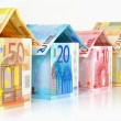 Euro houses — Stock Photo