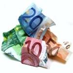 Wrinkled money — Stock Photo