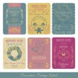 Vintage label set — Vector de stock #5448110