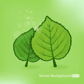 Vector Natural illustration — Stock Vector