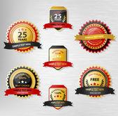 Award linten — Stockvector