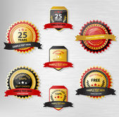 Premio cintas — Vector de stock
